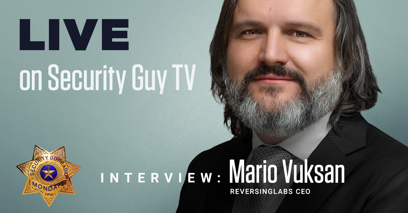 Security Guy TV interview with Mario Vuksan