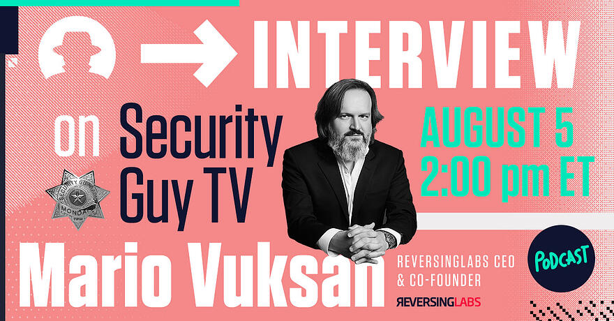 Security TV Guy Podcast with our CEO Mario Vuksan