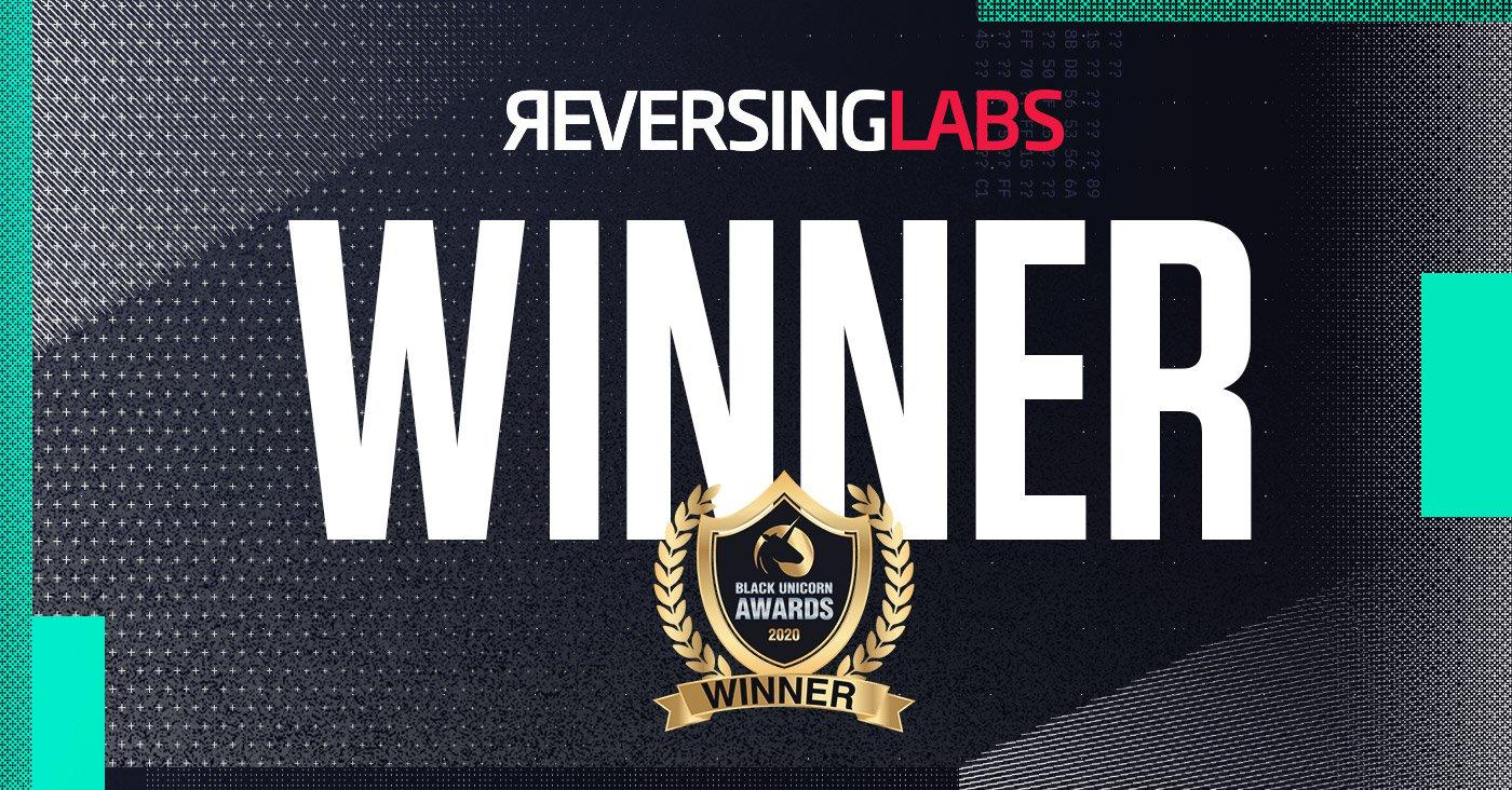 ReversingLabs again Named a Winner in 2020 Black Unicorn Awards
