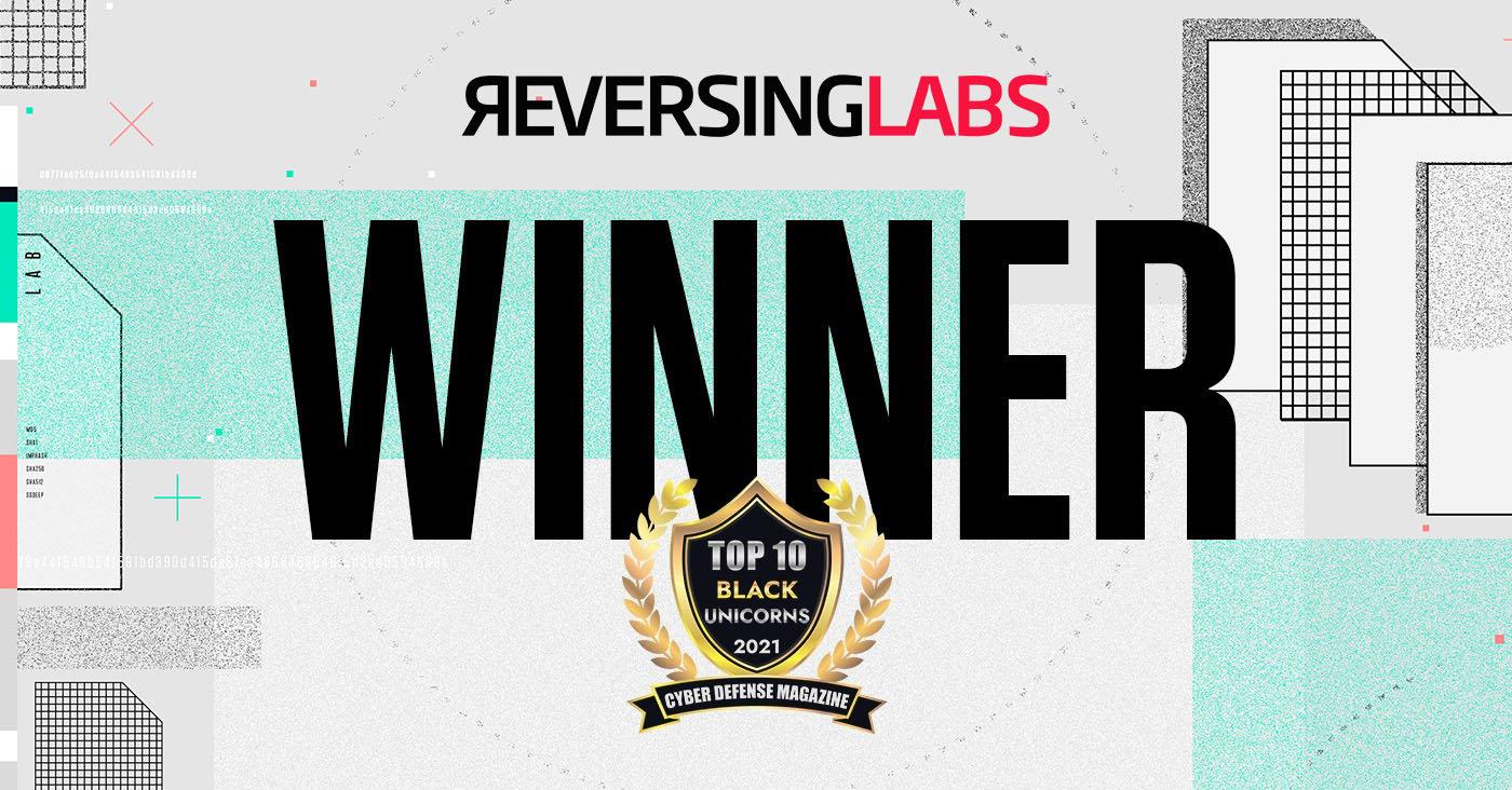 ReversingLabs Named Winner in Black Unicorn Awards for 2021!
