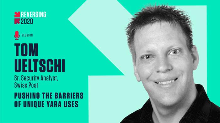 Tom Ueltschi - REVERSING 2020 Speaker
