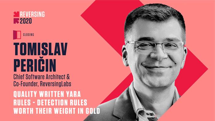 Tomislav Pericin - REVERSING 2020 Speaker